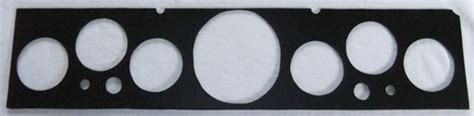 Almost Cluster Glossy Black Original Ca4816 67 dodge coronet new instrument panel