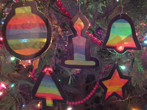 Deko Ideen 5180 by Ornaments With Tissue Paper Gluesticks Black