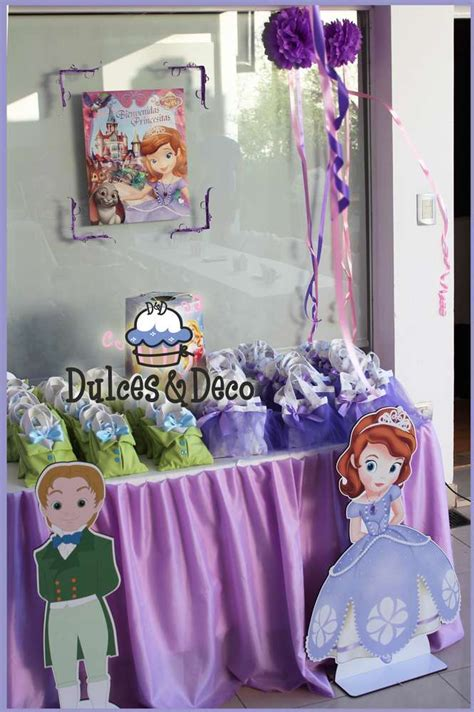 Princess Sofia Decorations by Princess Sofia Birthday Ideas Photo 3 Of 26