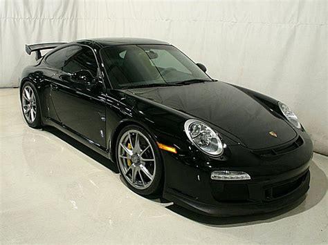 black porsche 911 gt3 2010 porsche 911 gt3 black black leather pccb s