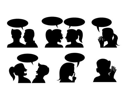 free gossip v gossip silhouette www imgkid the image kid has it