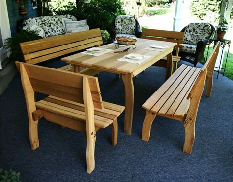 cedar patio furniture cedar chickadee dining set cedar