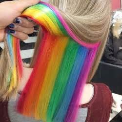25 best ideas about highlights underneath on 25 best ideas about underneath hair colors on pinterest