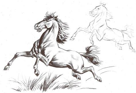 imagenes artisticas y que representan dibujo art 237 stico caballos plantillas para pintar etc