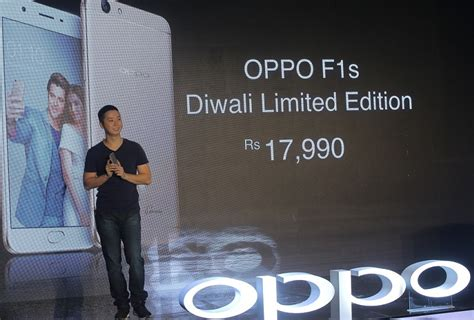 Glow In The F1s oppo f1s diwali limited edition launched in india for rs