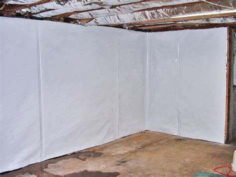 how to cover basement walls clean space wall waterproofing