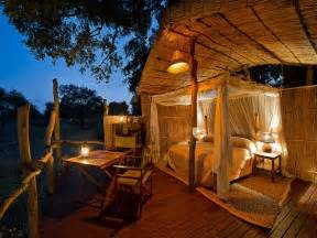 Treehouse Bedroom Flatdogs Jackalberry Tree House Zambia Go2africa Com