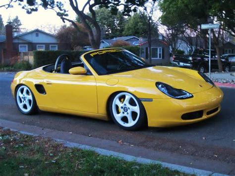 slammed porsche boxster lowered pics 986 forum for porsche boxster cayman
