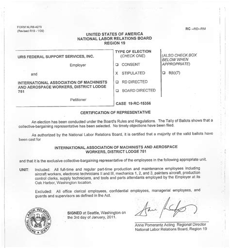 Contract Letter Agreement Employer To Employee Organizing 101