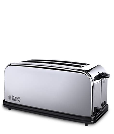 Slim White Toaster Classic Stainless Steel 4 Slice Multi Toaster 23520