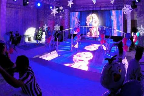 frozen themed party venue 5 quirky themes for christmas and new year parties view pics