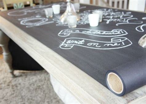 chalkboard paint vs chalkboard contact paper best 25 chalkboard table ideas on play tables