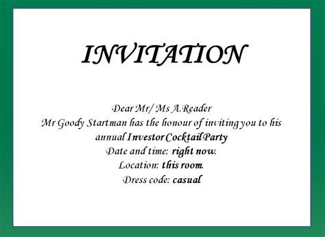 Write An Invitation Letter To Your Birthday How To Write Invitation Letter For Cover Letter Templates