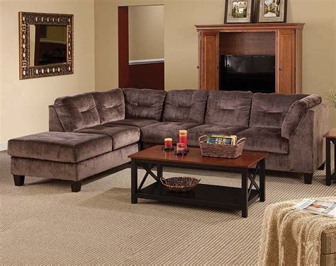 american freight sectionals olympian chocolate 2 piece sectional sofa modern