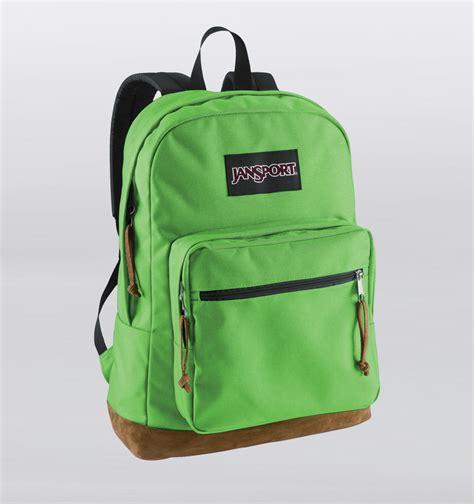 jansport right pack 15 quot laptop backpack green bean rushfaster au australia