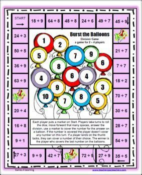 easy printable division games 101 best free classroom games images on pinterest 5th