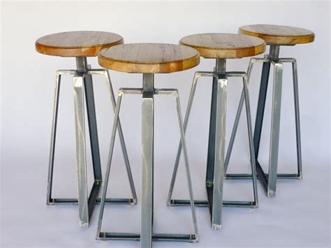 industrial design bar stools industrial channel iron stool by nyen designs
