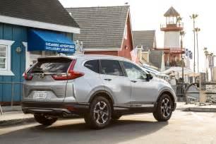 Honda Touring 2017 Honda Cr V Touring Awd Test Motor Trend