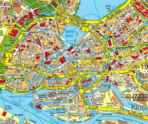 city center hamburg hamburg map