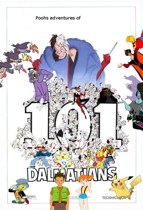 alex and warios adventures of 101 dalmations image pooh s adventures of 101 dalmatians poster jpg