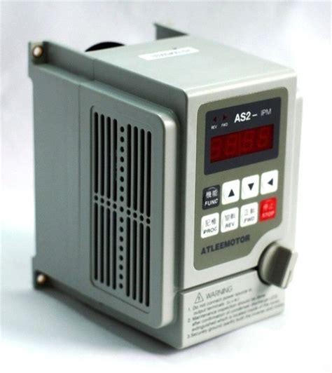 0 75kw 1hp 2000hz Vfd Inverter Frequency Converter Single
