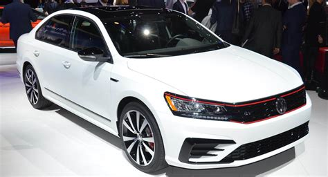 2018 Passat Gt by 2018 Vw Passat Gt Combines Sportier Styling With 280hp V6