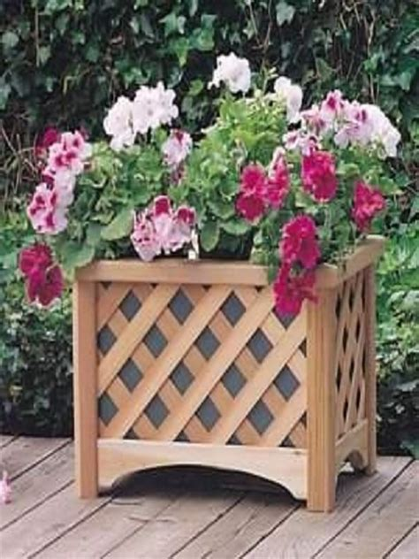 wood container garden beautiful wooden planter boxes hometone