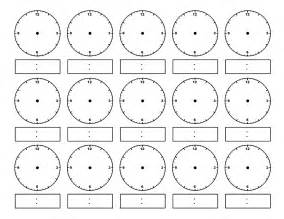 blank clocks for telling time search results calendar 2015