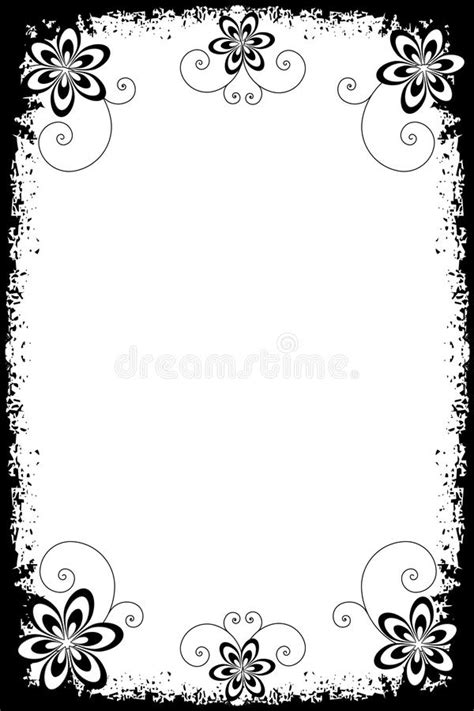 grunge page with floral border stock illustration illustration of fashioned aged 2582659 grunge floral borders stock vector illustration of borders 13744264