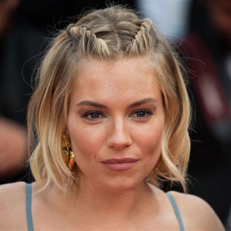 plaiting hair to grow it sienna miller shows us how to grow out bangs gracefully