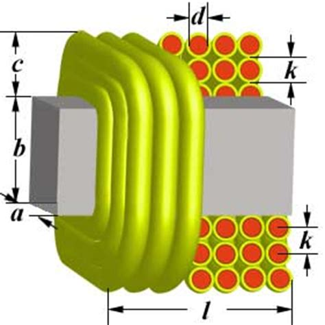 rectangular spiral inductor design coil32 multilayer rectangular inductor