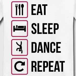 eat drink dance repeat shop and nom at ikea tines shop dance dancer t shirts online spreadshirt