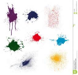color ink splatter royalty free stock photo image 8534095