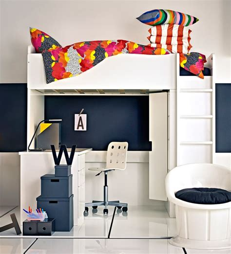 Stuva Malad Loft Bed With Desk And Wardrobe By Ikea Bed Desk Ikea