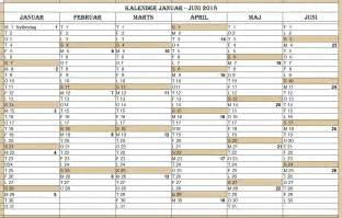 Kalender 2018 Dk Kalender Med Uger Service Laptop