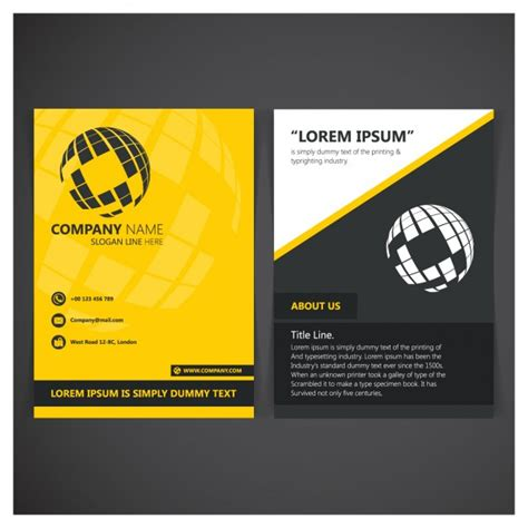 Company Folder Template company folder template vector free