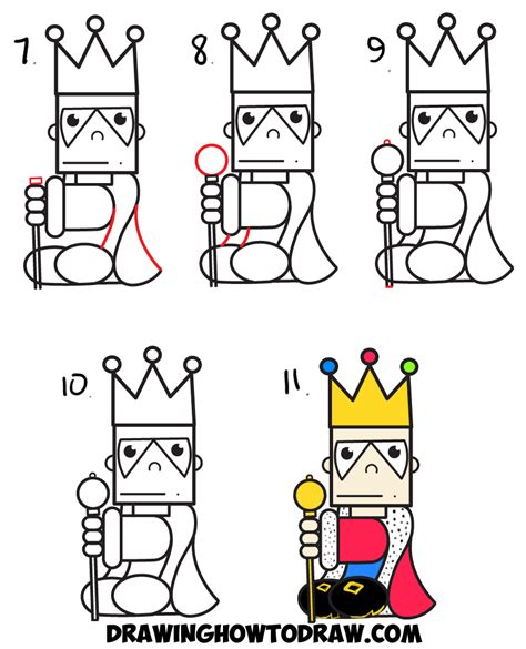how to draw doodle words how to draw king from the word easy step by step