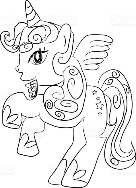 imagenes de unicornios para iluminar dibujos para colorear de unicornios majestuoso unicornio