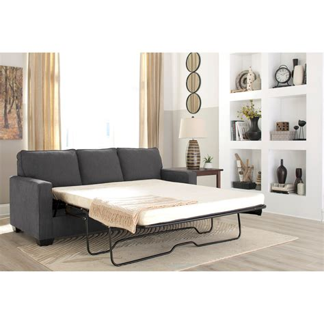 zeb queen sleeper sofa signature design by ashley zeb queen sofa sleeper with