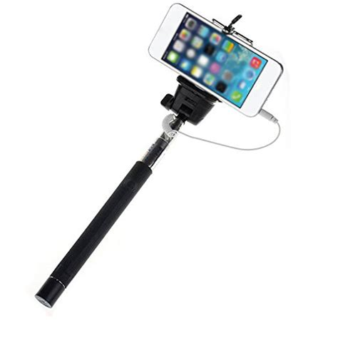 Monopod Selfie wired selfie stick extendable monopod selfie to self handheld stick self portrait monopod tripod