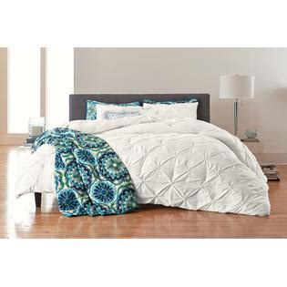 colormate solid pintuck comforter set white home bed