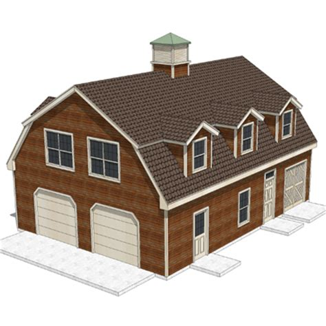 home design 3d roof house shed with gambrel roof 3d model formfonts 3d