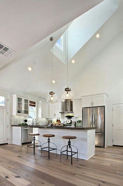 Lighting For Slanted Ceiling 9 Best Vaulted Ceiling Lights Images On Pinterest Can Lights Ceiling Pendant And Kitchen Ceilings