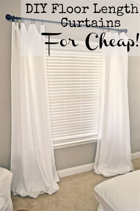 what lengths do curtains come in diy floor length curtains floors curtains and diy and