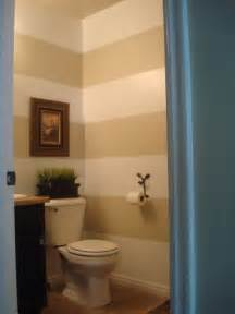 half bathroom paint ideas horizontal stripes