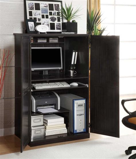 printer armoire solid wood home office furniture for style and durability