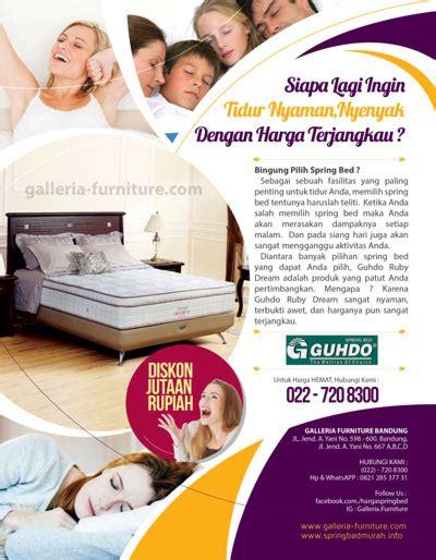 Kasur Back Pedic 200x200x26 Cm Guhdo Bed toko pusat penjualan kasur bed di bandung harga