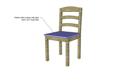 kitchen chair designs free plans to build a dining chair 1