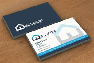 managing business cards ellison property management business card freelancer