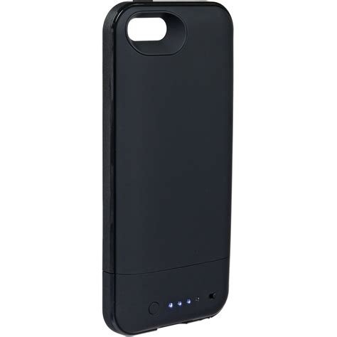 h iphone 5s mophie juice pack plus for iphone 5 5s se black 2110 b h photo